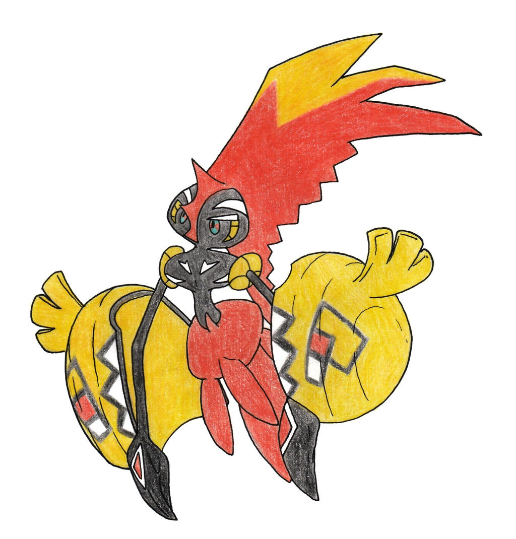 Tapu koko by FrozenFeather