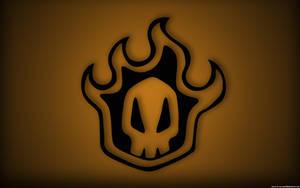 Bleach skull orange by cmark0