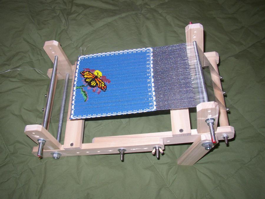 custom bead loom by justjessi on deviantart