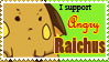 Raichu support stamp by FalseEnthusiasm