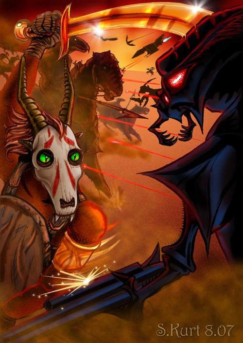 Kaleesh-Club Contest - Battle by Draco-Stellaris