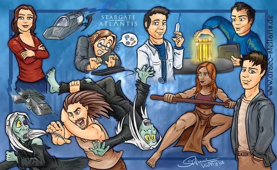 Stargate Atlantis by Draco-Stellaris