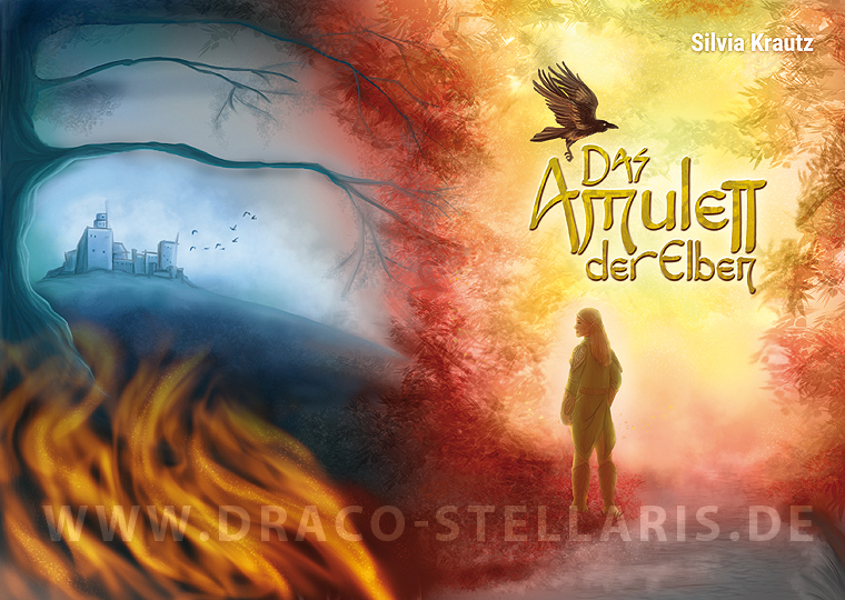 book cover das amulett der elben by draco stellaris on deviantart