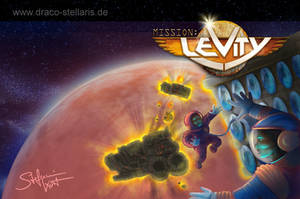 Book Cover - Mission: Levity 2