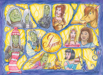 Happy Anniversary, Hive 53 by Draco-Stellaris