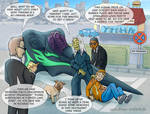 Trouble with Earth Authorities by Draco-Stellaris
