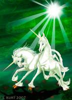 Unicorns by Draco-Stellaris