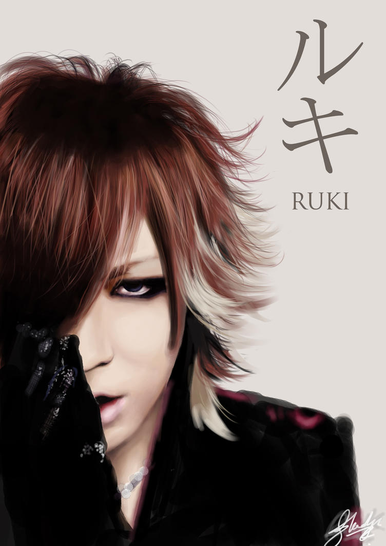 Ruki - the GazettE by crysticx