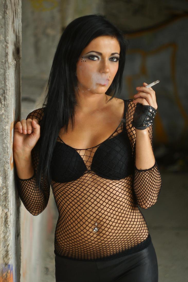 Smoking hot brunette by fotomartinez on DeviantArt
