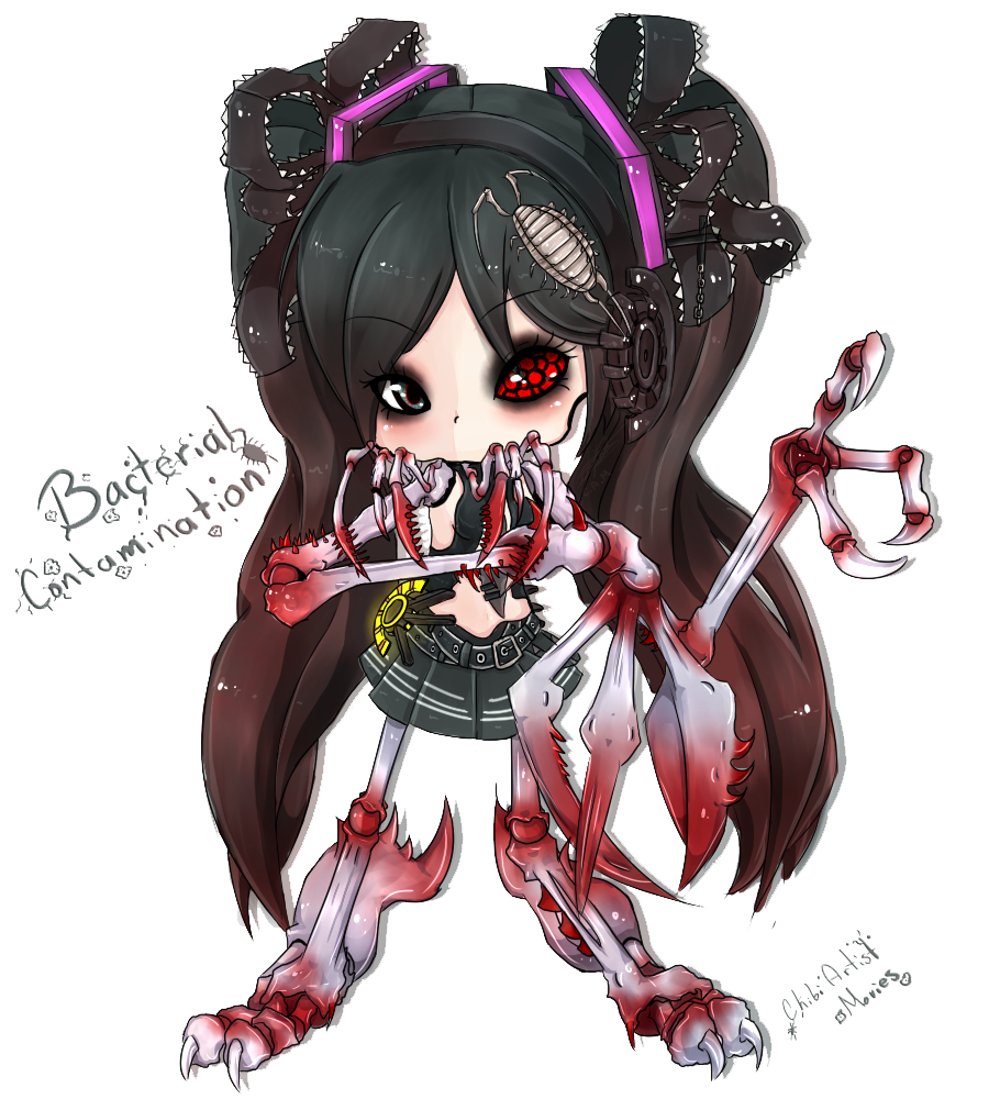 Chibi Bacterial Contamination by ChibiArtistMovies