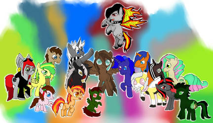 My Freinds  by gingagirl412