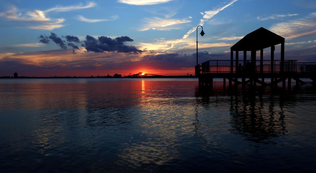 Lake Hut At Sunset by RobertRobledo