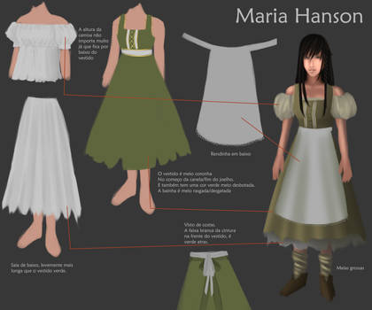 Commission: Maria Cosplay