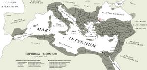 The [Eastern] Roman [Byzantine] Empire A.D. DLXV