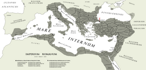 The [Eastern] Roman [Byzantine] Empire A.D. DLXV