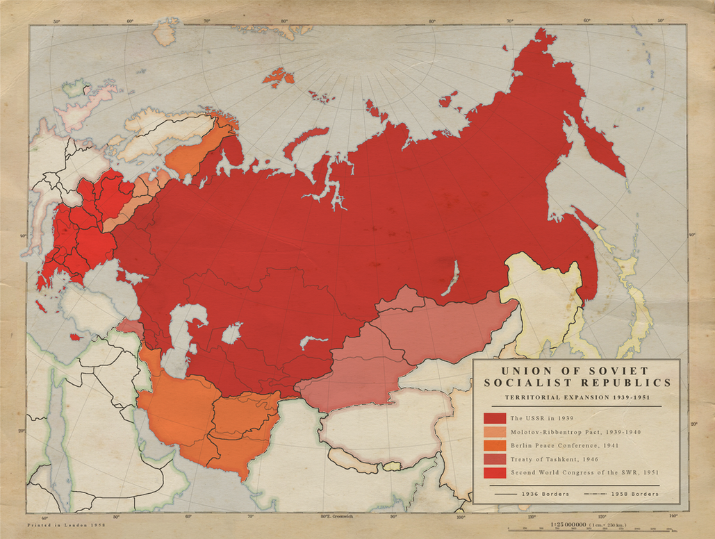 2 USSR Territorial Expansion 1939 1951 by Kuusinen