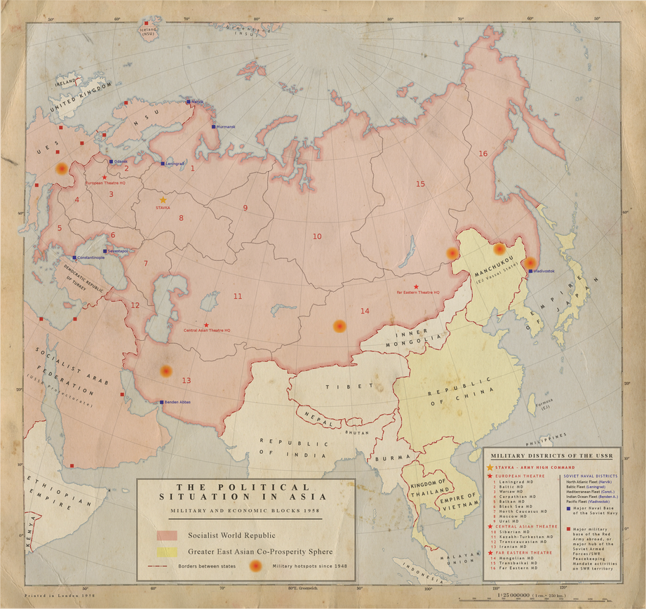3. USSR Political-Military Situation, Asia 1958 by Kuusinen