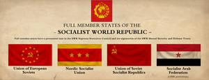 Socialist World Republic Poster