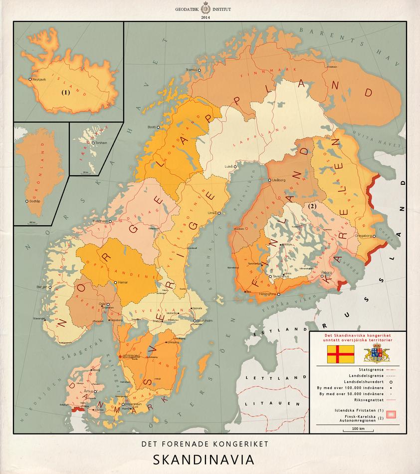 United Kingdom of Scandinavia [Nordic language] by Kuusinen