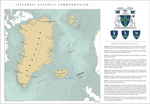 The Icelandic Atlantic Commonwealth. Overview Map