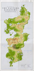 Detailed Map of the Eastern Kingdoms
