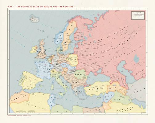 Alternate Cold War 1960 - Europe Political
