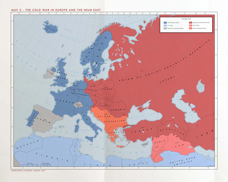 Alternate Cold War 1960 Cold War In Europe By Kuusinen
