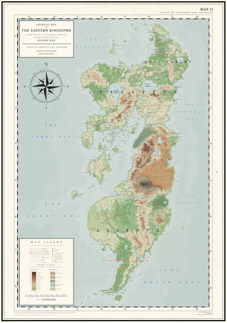 An Atlas of Azeroth