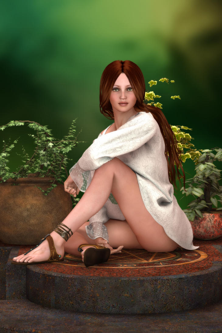 The Forest Angel by RGUS