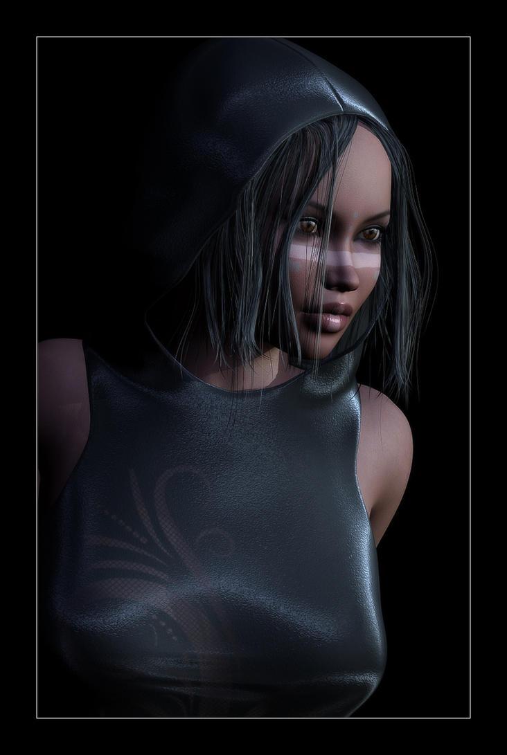 When Black Isn't Dark Enough by RGUS