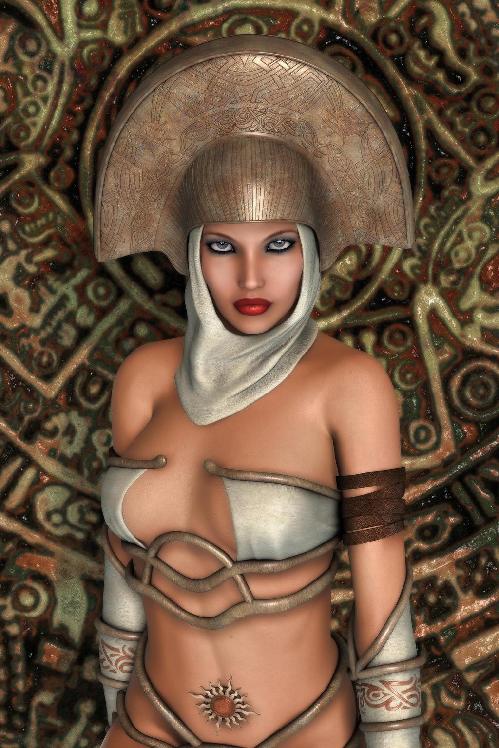 Priestess of the Sun by RGUS