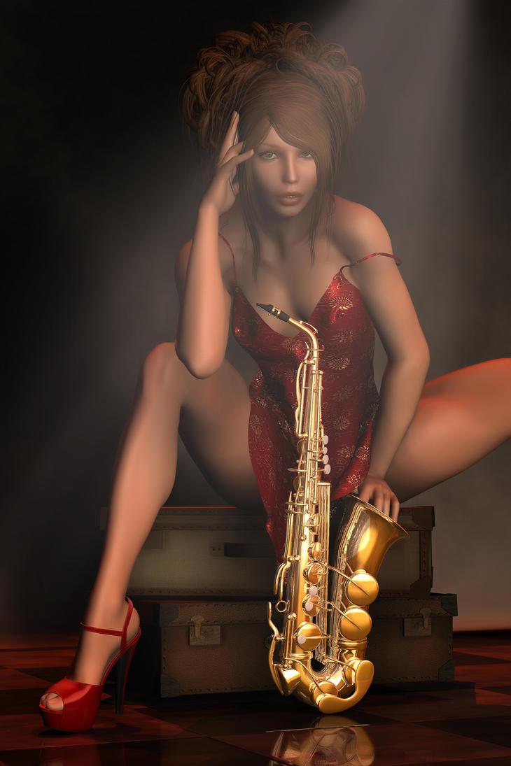 Smokin' Hot Sax by RGUS