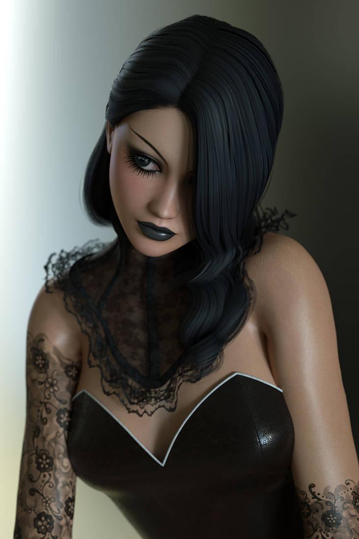 Beautiful in Black by RGUS