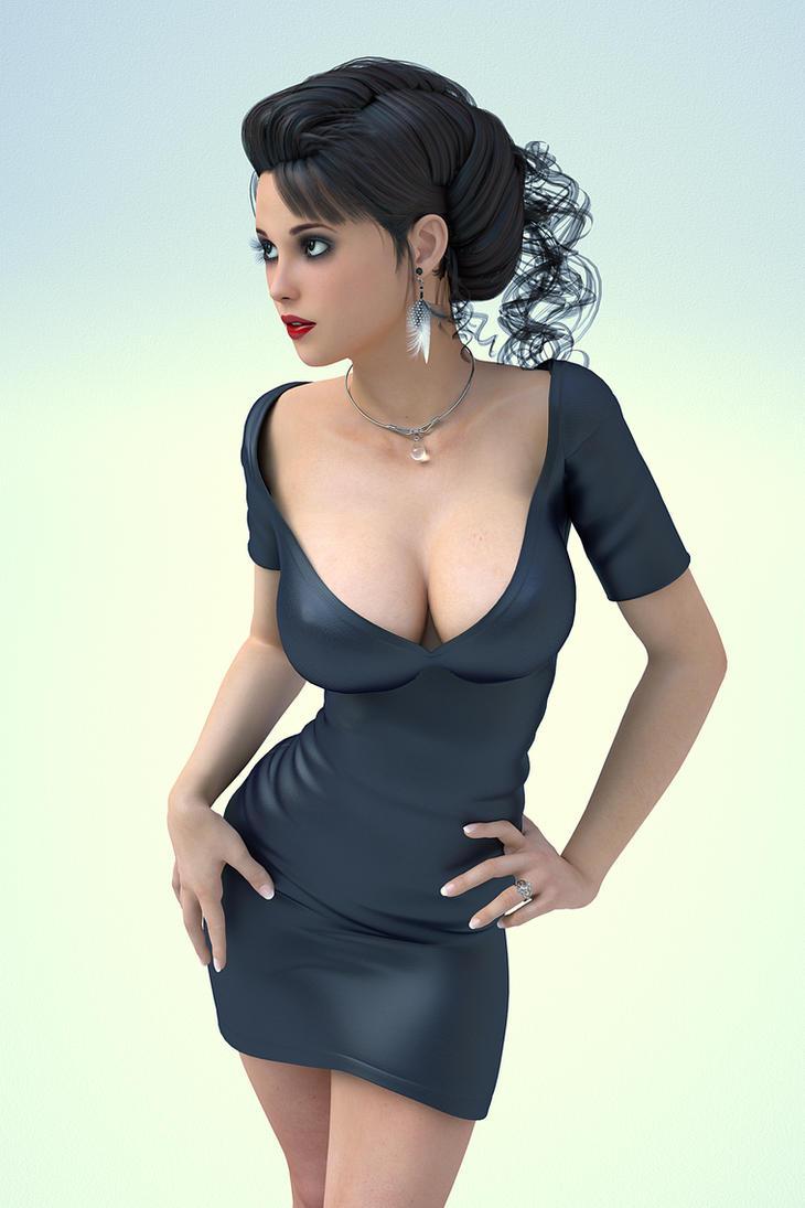 Little Black Dress by RGUS