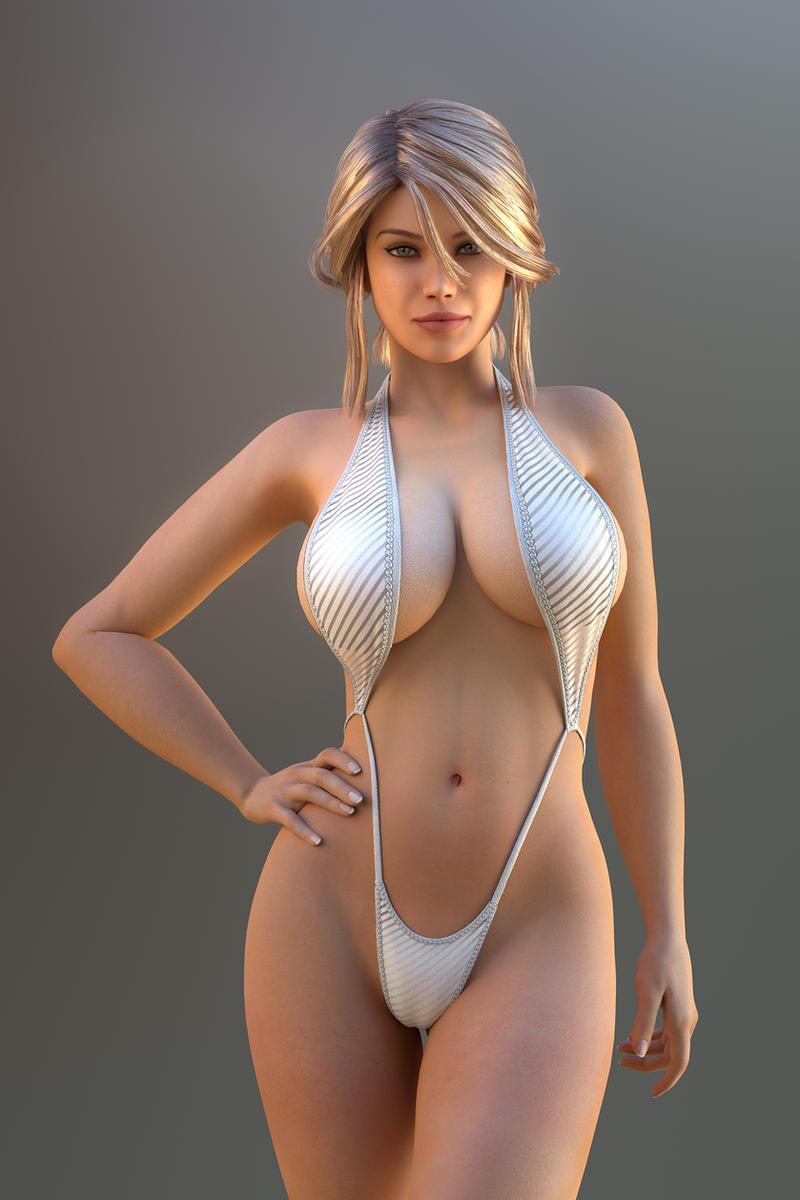 Naked Buxom 21