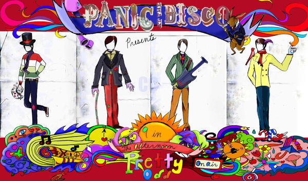panic at the disco banner by spurshsuurt