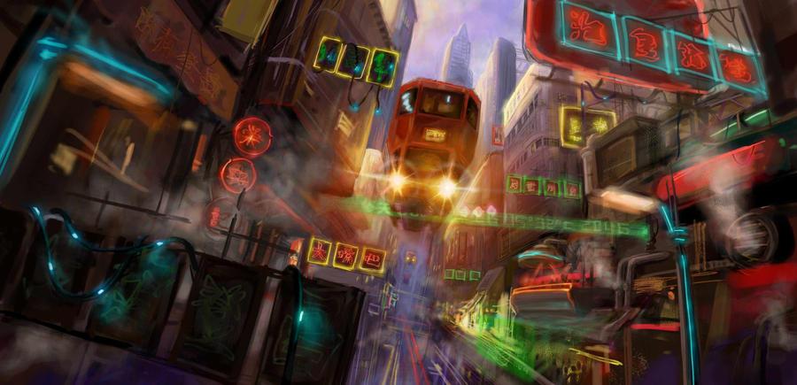Hong Kong of 2046 by FeiGiap