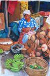 coconut vendor by FeiGiap