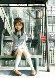 Schoolgirl by FeiGiap