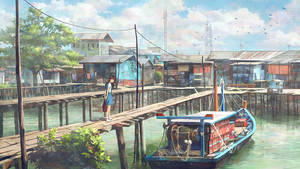 Fishing Village Schoolgirl