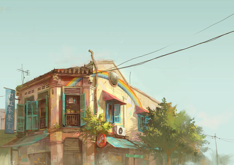 rainbow shop by FeiGiap