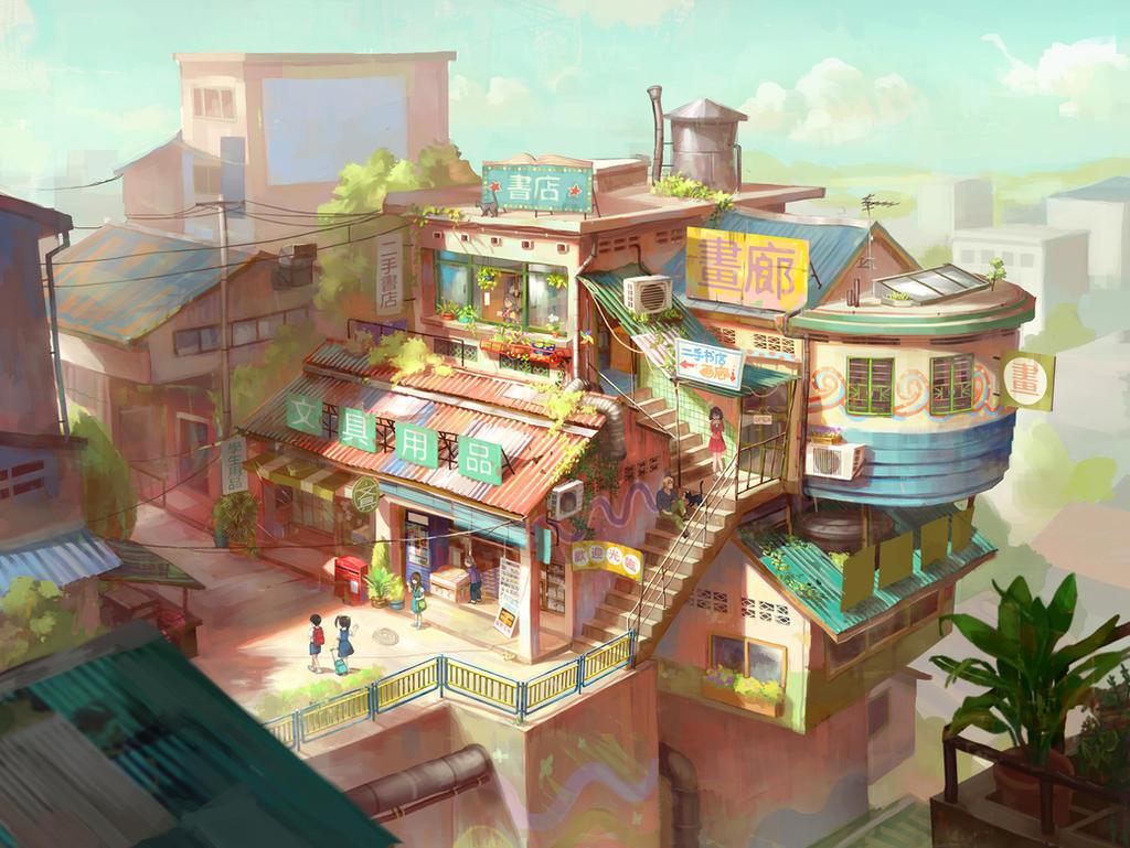 Shops concept
