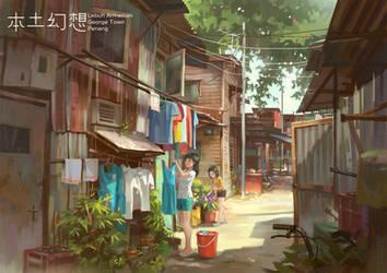 Back Alley Girls by FeiGiap