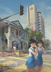 Cross the street by FeiGiap