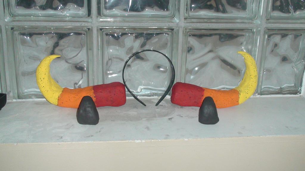 Karkat Cosplay Horns Karkat Horns in Comparison to
