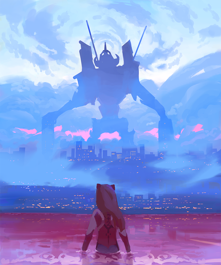 The End of Evangelion by Gydw1n on DeviantArt