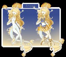 Dextroluma event - Day 10: Angel by kawaii-antagonist