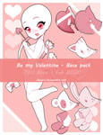 Chibi Valentine Base   P2U