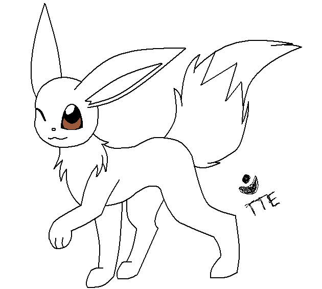 eeveelution coloring pages - photo #48