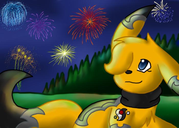 Fireworks by TwilightTheEevee